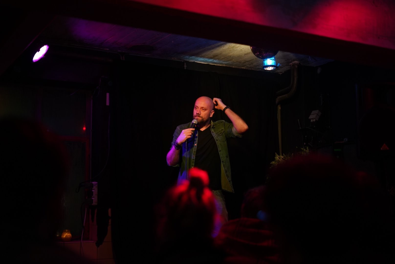 Fedor preforming in Maastricht, The Netherlands